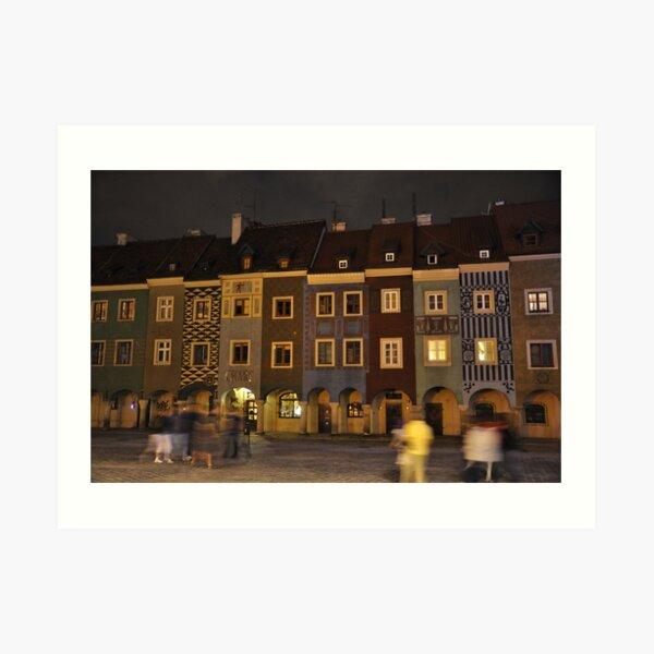 Colours Of Poznan Art Print