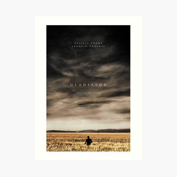 Poster of the movie gladiator Impression artistique