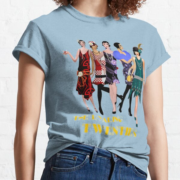 The Roaring 20's Dancers 2 Classic T-Shirt