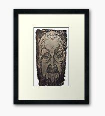 """Charlie"" Etching Plate Framed Print"