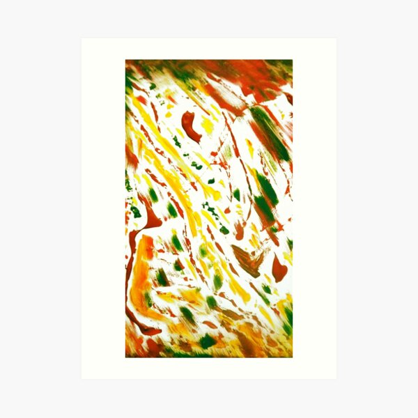 Scott's Pizza Painting Art Print