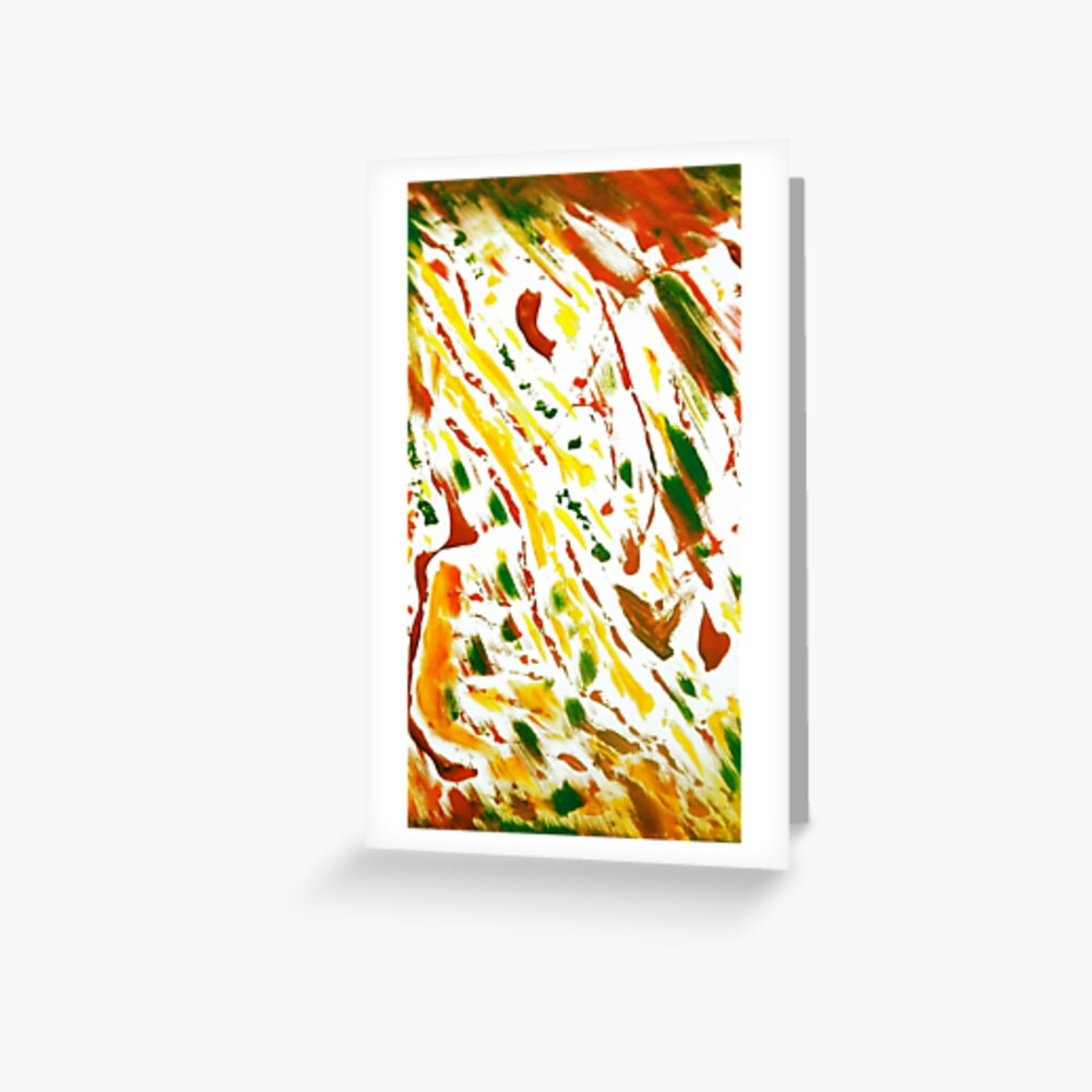 Scott's Pizza Painting Greeting Card