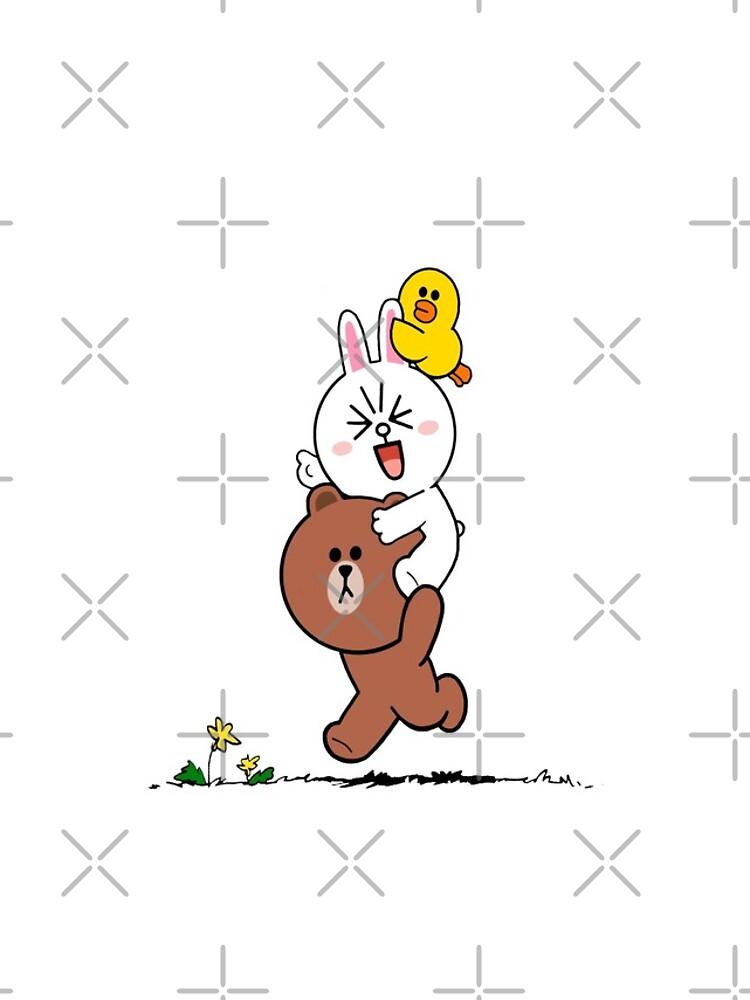 Brown bear cony bunny rabbit duck by tommytbird