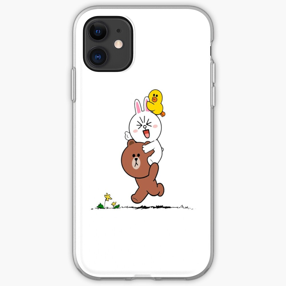 Brown bear cony bunny rabbit duck iPhone Case & Cover
