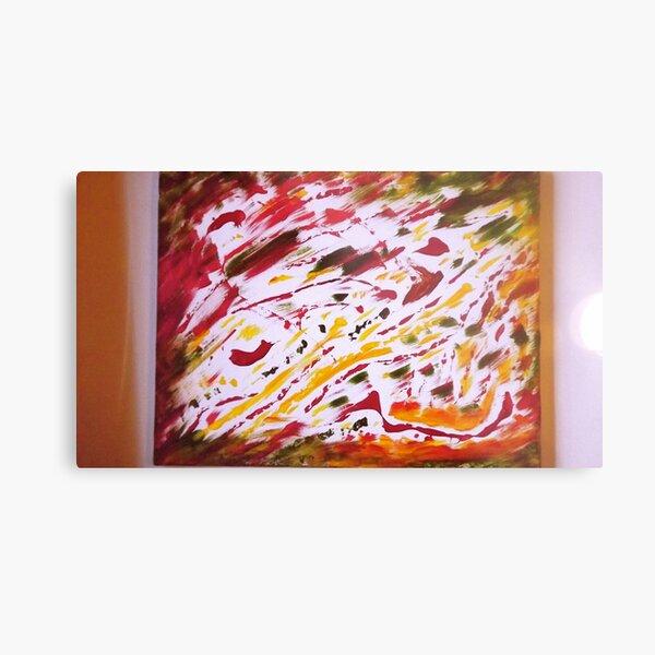 Scott's Pizza Painting 2 Metal Print