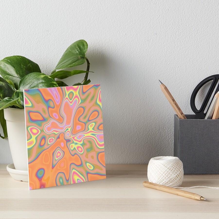 Color Sequences of smart color Art Board Print