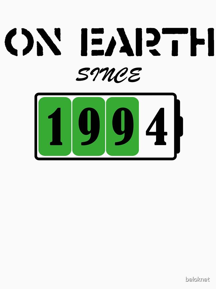 On Earth Since 1994 by beloknet