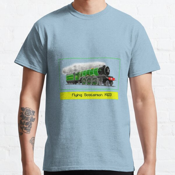 An Iconic Steam Locomotive with border 1923 design Classic T-Shirt