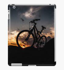 muountain biking iPad Case/Skin