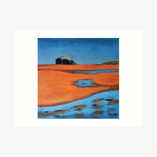Bass Rock  from Yellowcraigs Art Print