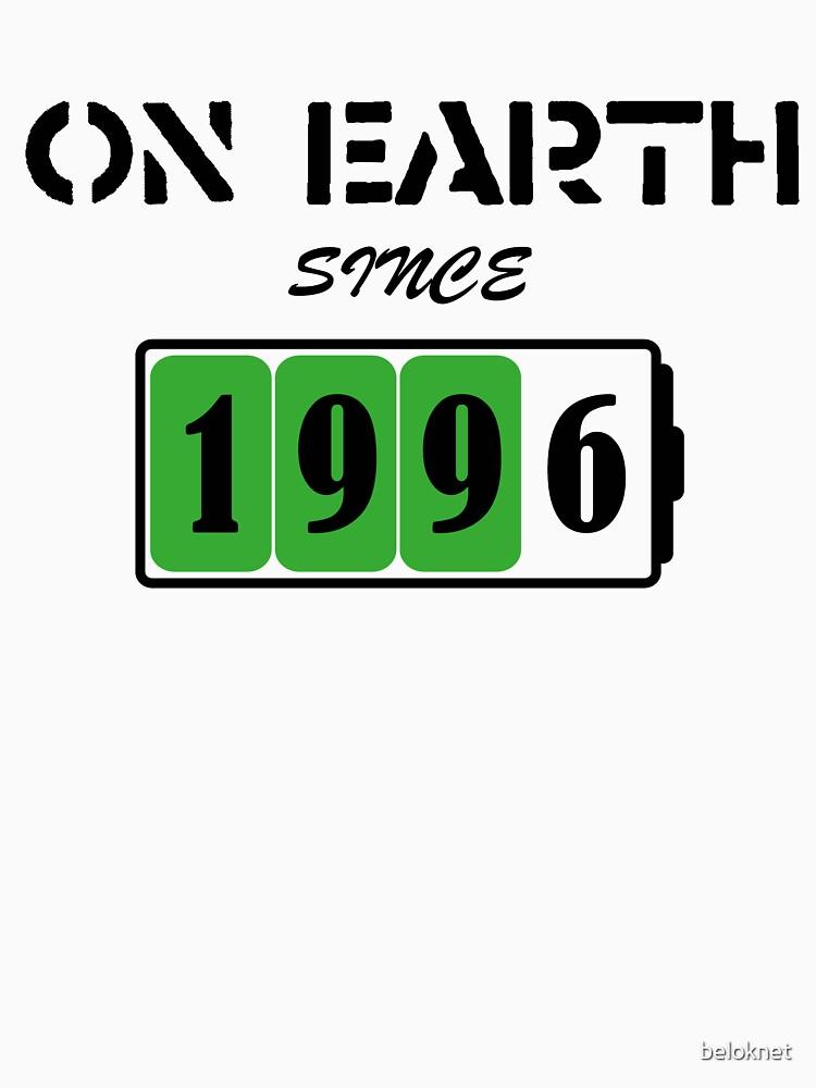 On Earth Since 1996 by beloknet