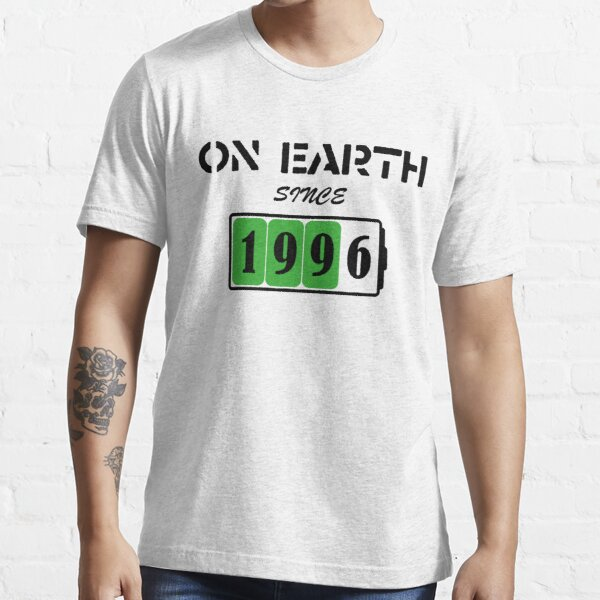 On Earth Since 1996 Essential T-Shirt
