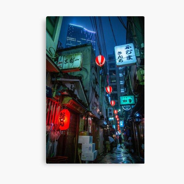 Tokyo Yokocho Canvas Print