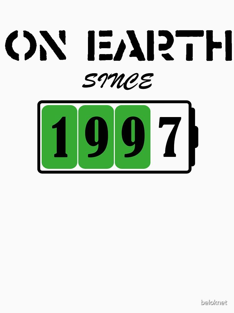 On Earth Since 1997 by beloknet