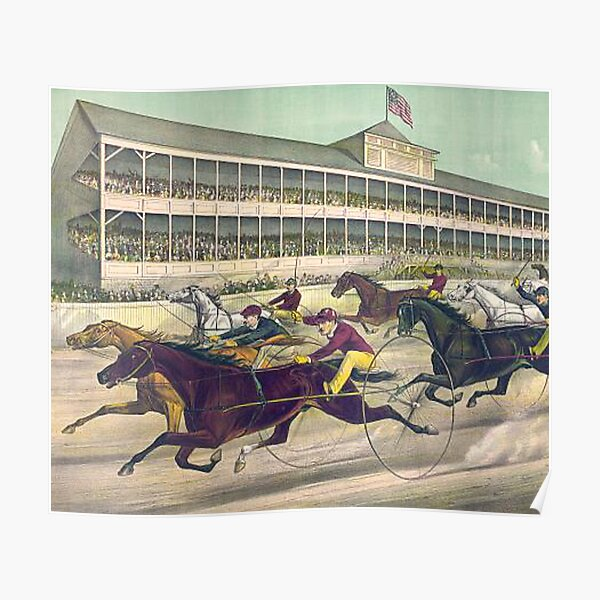 Harness Race to the Wire Poster