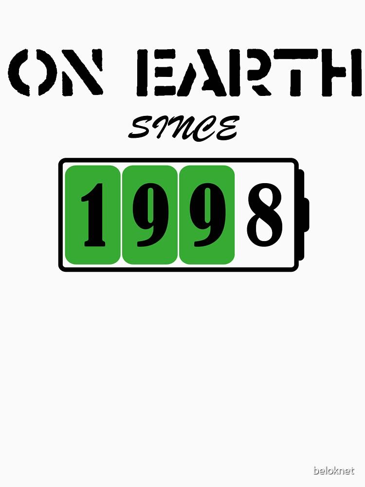 On Earth Since 1998 by beloknet