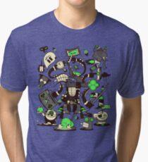 Capers, Schemes, Plans, & Scams Tri-blend T-Shirt