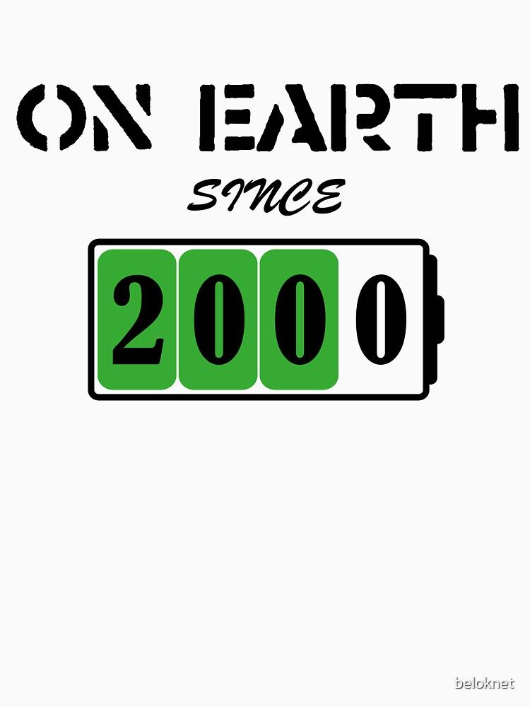 On Earth Since 2000 by beloknet