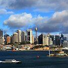 Sydney Cityscape by maysun