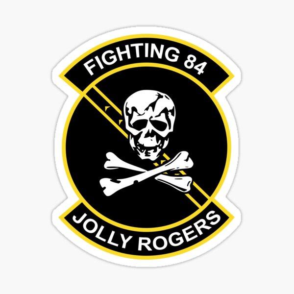 Jolly Rogers Fighting 84 Sticker