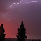 Lightning At Twighlight by Arlita Marie Moles
