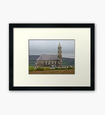 The Lone Church Framed Print