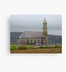 The Lone Church Canvas Print