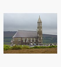 The Lone Church Photographic Print