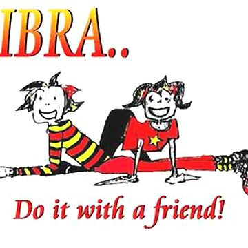 Libra - do it with a friend by AlisonWilkie