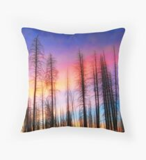 Whispering Pines Throw Pillow