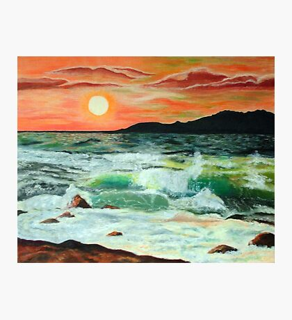 Sunset Glow Photographic Print