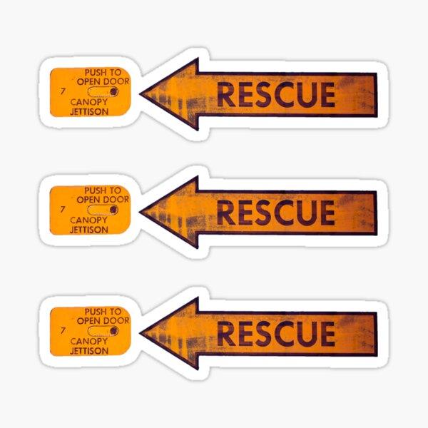 Directions Sticker