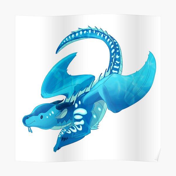 Aile de Mer Les Royaumes de Feu Poster