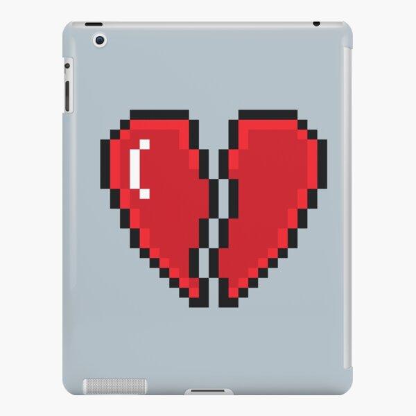 Coque Et Skin Adhesive Ipad Pixel Art 8 Bits Coeur Brise Par 8bitpixelart Redbubble