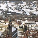 UNA CHIESETTA E UN PICCOLO CAMPOSANTO .località BARDI  italia. VETRINA rb explore 31 gennaio 2013 --    by Guendalyn