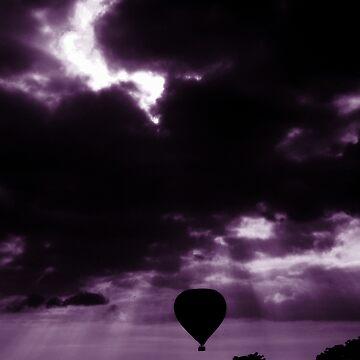 Purple Balloon by GCooles