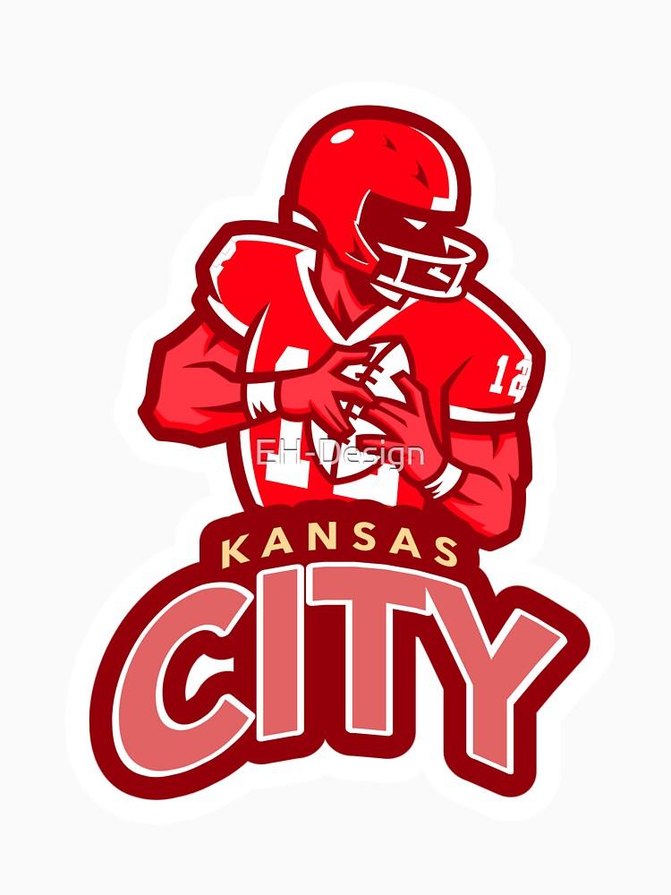 Kansas City Football von EH-Design