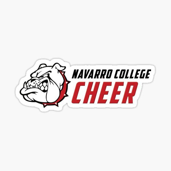 Navarro College Cheer Logo Sticker