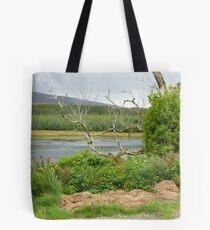 Over the lake Tote Bag