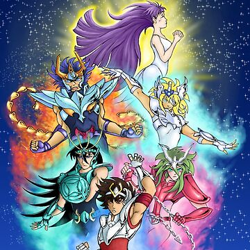 Saint Seiya by 9999DamagePoint