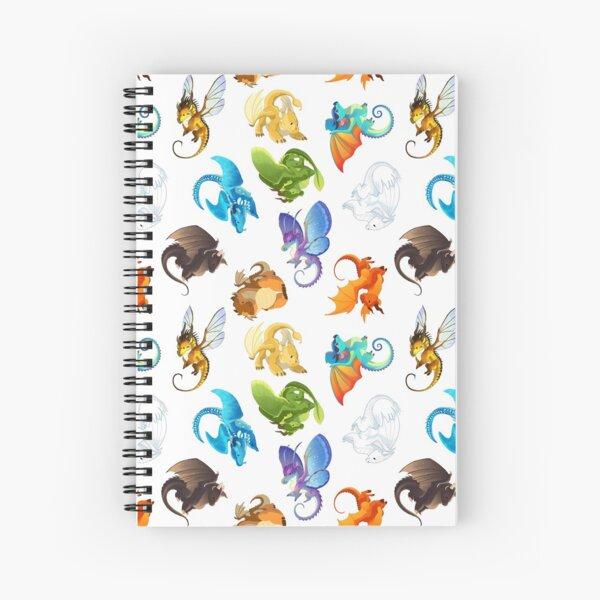 Wings of Fire Pattern Spiral Notebook