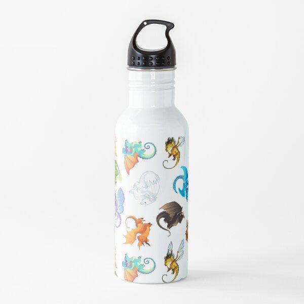 Wings of Fire Pattern Water Bottle