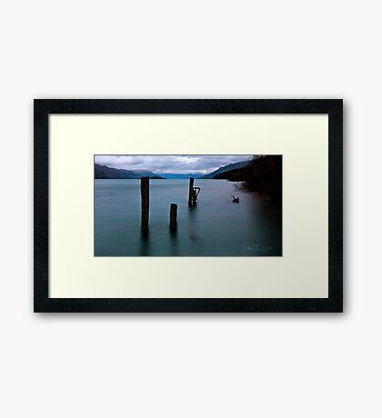 Break of Day over Lake Wakatipu Framed Print