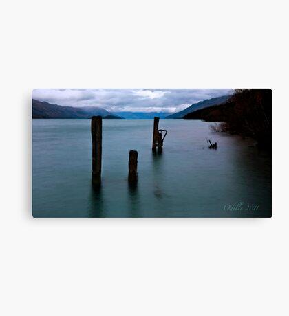Break of Day over Lake Wakatipu Canvas Print