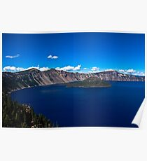 Crater Lake crater Poster