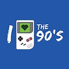 I Love the 90's by BootsBoots