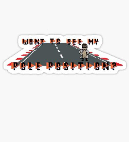 Pole Position Sticker