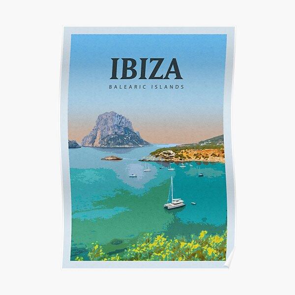 Besuchen Sie Ibiza Poster