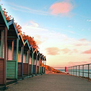 Kornische Strandhütten von Andrew-Hocking