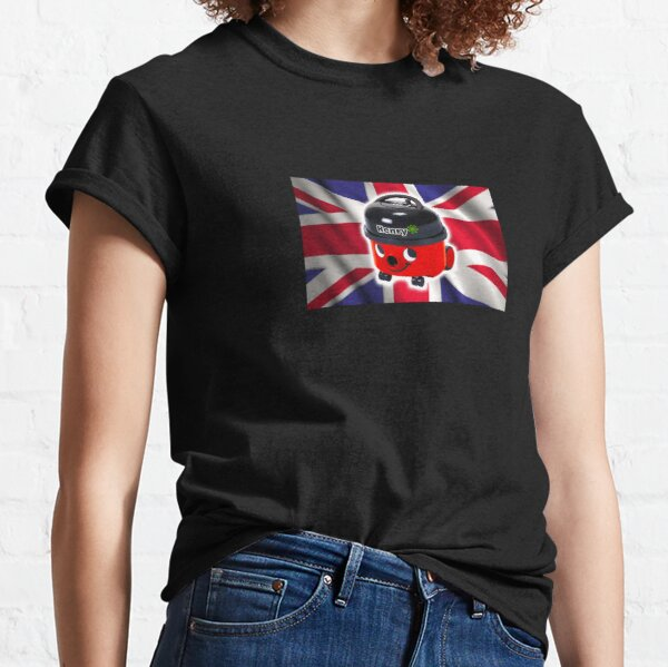 Henry Hoover with UK Flag Classic T-Shirt